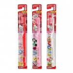 日本製 EBISU 三麗鷗Hello Kitty牙刷3入組(...