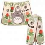 日本進口龍貓多用型保暖毛毯