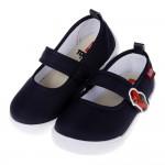 (16~21公分)TOMICA多美小汽車深藍兒童休閒鞋室內鞋...