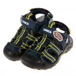 (16~20公分)TOMICA多美小汽車深藍色兒童運動護趾涼鞋P#HD3NB*XBX