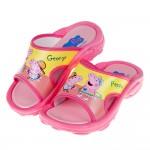 (16~18公分)粉紅豬小妹佩佩開心玩粉色兒童拖鞋R#BN3NG*XGX