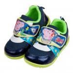 (15~18公分)粉紅豬小妹喬治豬開趴踢藍色兒童休閒鞋R#JN3NB*XBX