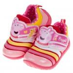 (14~18公分)粉紅豬小妹佩佩豬好心情粉色兒童休閒鞋