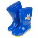 (16~21公分)Pokemon神奇寶貝皮卡丘藍色兒童雨鞋
