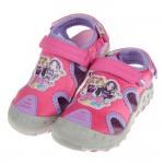 (18~22公分)偶像學園桃色兒童運動涼鞋