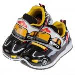 (15~20公分)TOMICA多美小汽車黑色警車兒童運動鞋