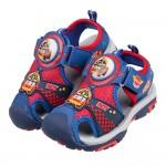 (15~19公分)POLI救援小英雄羅伊紅色兒童電燈護趾涼鞋P#HD3LA*XBX