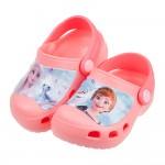 (15~20公分)Disney冰雪奇緣二代蜜桃粉兒童布希鞋R#GN3NG*XGX