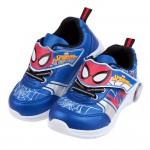 (16~21公分)Marvel蜘蛛人新宇宙藍色兒童電燈運動鞋R#KN3LB*XBB