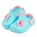(15~20公分)Disney冰雪奇緣水藍色兒童電燈布希鞋R...