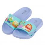 (16~22公分)角落生物角落小夥伴紫色兒童輕量拖鞋R#BN...
