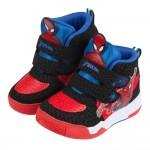 (17~21公分)Marvel蜘蛛人噴射紅黑色兒童高筒運動鞋P#KA3NA*XBX