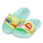 (15~21公分)角落生物角落小夥伴綠色兒童輕量拖鞋R#BN...