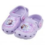 (15~20公分)Disney冰雪奇緣紫色愛心兒童電燈布希鞋R#GN3LF*XGX