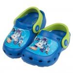 (15~18公分)POLI救援小英雄波力出動囉藍色兒童布希鞋...