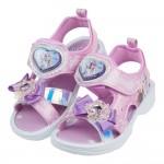 (17~21公分)Disney冰雪奇緣艾莎雪寶蝴蝶結粉紫紅色...