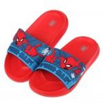 (17~22公分)Marvel英雄系列蜘蛛人噴射紅藍立體兒童輕量拖鞋R#BN3NA*XBB
