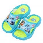(16~20公分)POLI救援小英雄羅伊安寶集合藍色兒童拖鞋R#BN4NB*XBB