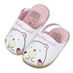 (13~15公分)角落生物角落小夥伴白熊粉白色護趾鬆緊帶寶寶...