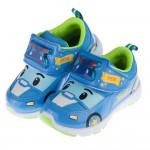 POLI波力藍色警車兒童電燈運動鞋(16~20公分)