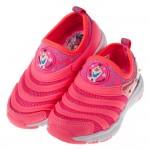 (16~20公分)冰雪奇緣北極光速粉色兒童輕量電燈運動鞋