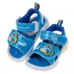 (15~19公分)POLI救援小英雄波力藍色兒童電燈涼鞋