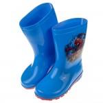 (17~22公分)Marvel蜘蛛人驚奇再起藍色兒童防滑雨鞋