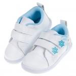 (15~20公分)Disney冰雪奇緣白色雪花艾莎兒童休閒鞋