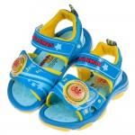 (15~19公分)ANPANMAN麵包超人夏日星空藍色兒童電燈涼鞋