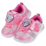 (16~21公分)Disney冰雪奇緣雪寶艾莎粉色兒童電燈鞋