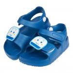 (15~18公分)三麗鷗新幹線小電車藍色兒童超輕量涼鞋R#HN3NB*XBX