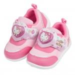 (14~18公分)HelloKitty凱蒂貓水彩小花朵桃色兒童電燈休閒鞋R#JN3LH*GGX