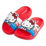 (15~22公分)HelloKitty凱蒂貓水手服紅色超輕量兒童拖鞋P#BN3NA*XGG