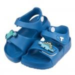 (14~18公分)TOPUONE兩隻小恐龍寶藍超輕量兒童涼鞋...