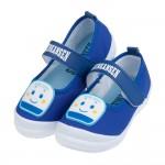 (15~21公分)三麗鷗新幹線小電車藍色上學專用兒童室內鞋R...