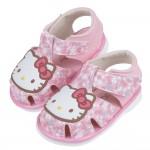(12.5~15公分)HelloKitty凱蒂貓粉色和風花朵...