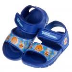 (15~19公分)TOPUONE陽光獅藍色兒童超輕量涼鞋