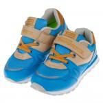 (19~23公分)TOPUONE多彩藍色透氣兒童運動鞋
