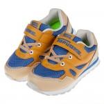 (19~23公分)TOPUONE多彩寶藍卡其透氣兒童運動鞋