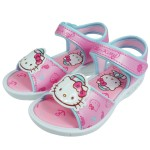 HelloKitty凱蒂貓海軍水手風粉色造型涼鞋(17~23cm)
