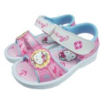 HelloKitty凱蒂貓海軍水手風粉白色造型涼鞋(14~19cm)