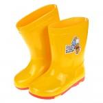 (16~21公分)Disney迪士尼小熊維尼黃色兒童雨鞋R#...