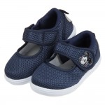 (16~22公分)Disney米老鼠米奇藍色透氣休閒鞋室內鞋...
