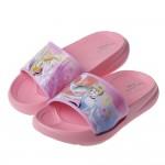 (15~20公分)Disney公主系列粉色亮彩兒童輕量拖鞋R...