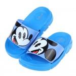 (15~18公分)Disney米老鼠米奇藍色兒童輕量拖鞋R#BE3NBXBX
