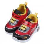 (16~19公分)Disney閃電麥坤紅色超跑電燈運動鞋R#...