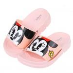(15~18公分)Disney米老鼠米妮與小花粉色兒童輕量拖...