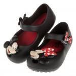 (14~19公分)Disney迪士尼米奇米妮兩小無猜黑色...