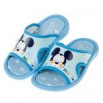 (14~19公分)Disney迪士尼晚安米奇水藍色兒童拖鞋