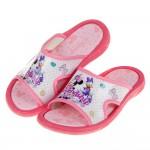 (16~18公分)Disney迪士尼歡樂米妮粉色兒童拖鞋